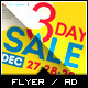 Holiday Sale Billboard Roll-Up Outdoor Banner - 2