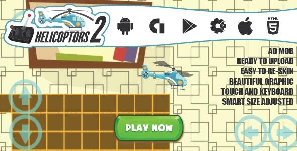 Helicopters 2.0 by azeemdreamsdesigner   CodeCanyon
