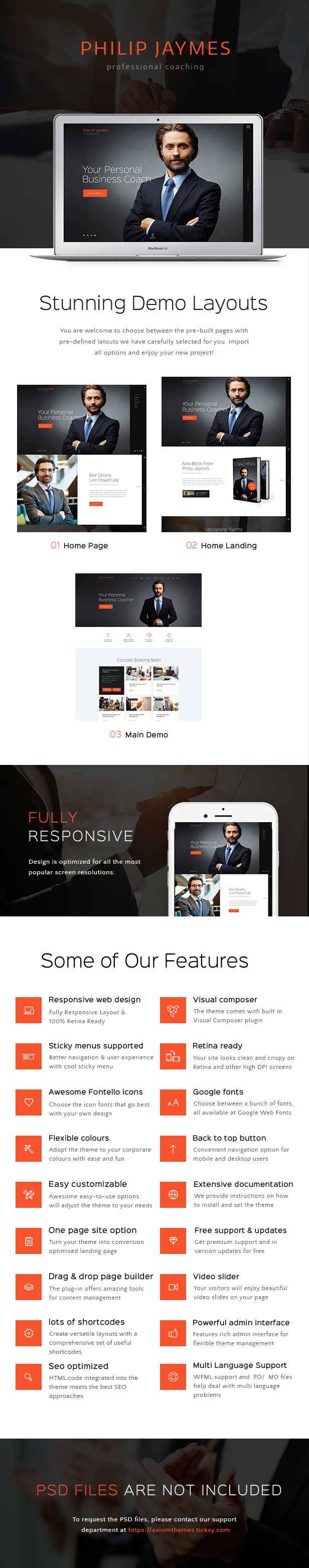 PJ | Life & Business Coaching WordPress Theme - 1