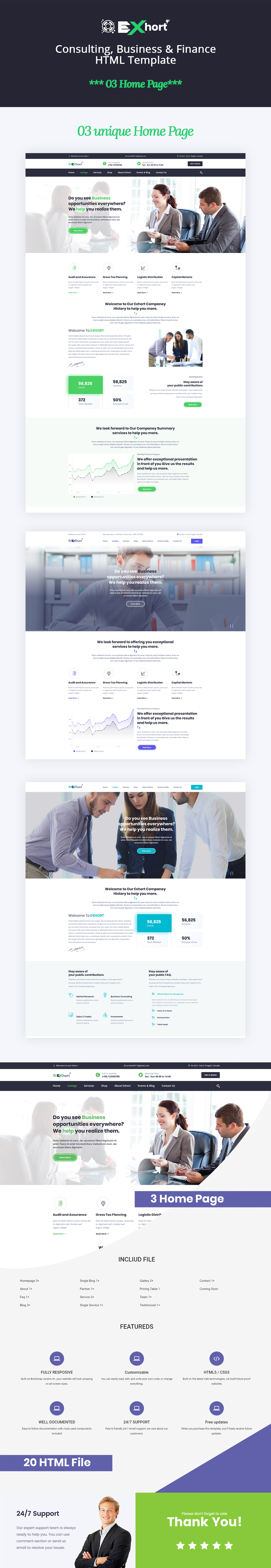 Exhort - Consulting, Finance, Business Bootstrap 4 Template  Consulting Business Bootstrap 4 HTML Template by themepul 687474703a2f2f696e74726f2e7468656d6570756c2e636f6d2f696d672f6578686f72742e6a7067