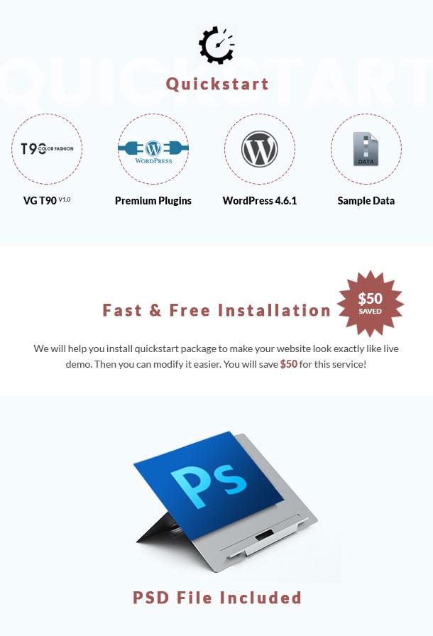 VG T90 - Clean, Minimalist WooCommerce WordPress Theme - 19