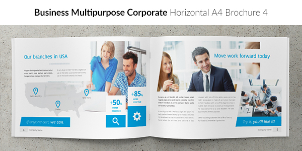 Business / Corporate Multi-purpose A4 Brochure 4
