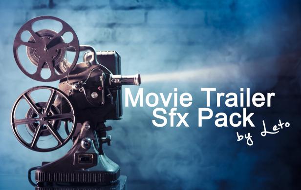 Movie Trailer Sfx Pack