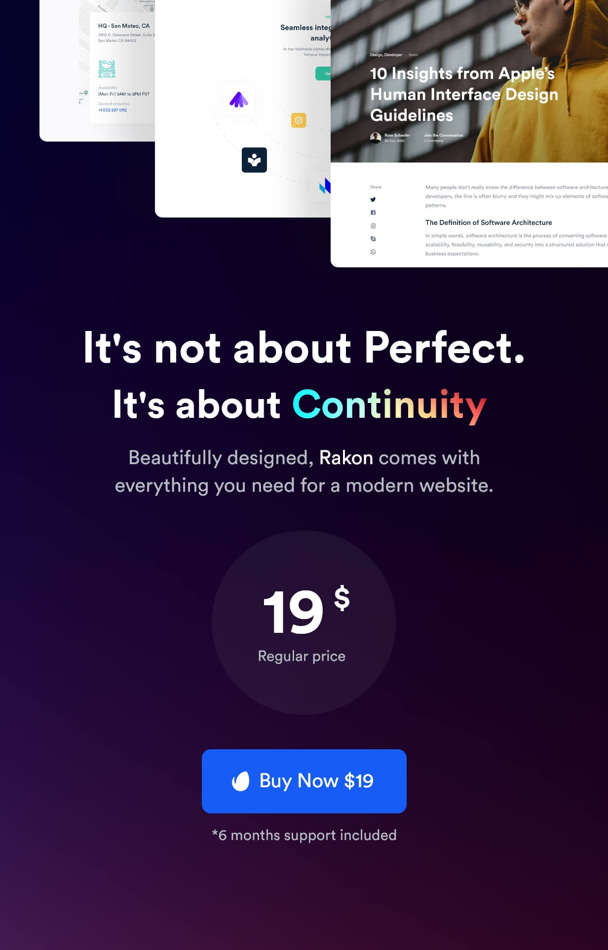 Rakon - Creative Multi-Purpose Landing Page HTML5 Template (RTL Supported) - 17