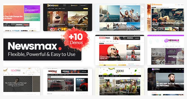 Newsmax WordPress theme