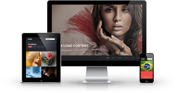 Eleven Responsive One Page Parallax Template By Clapat Themeforest