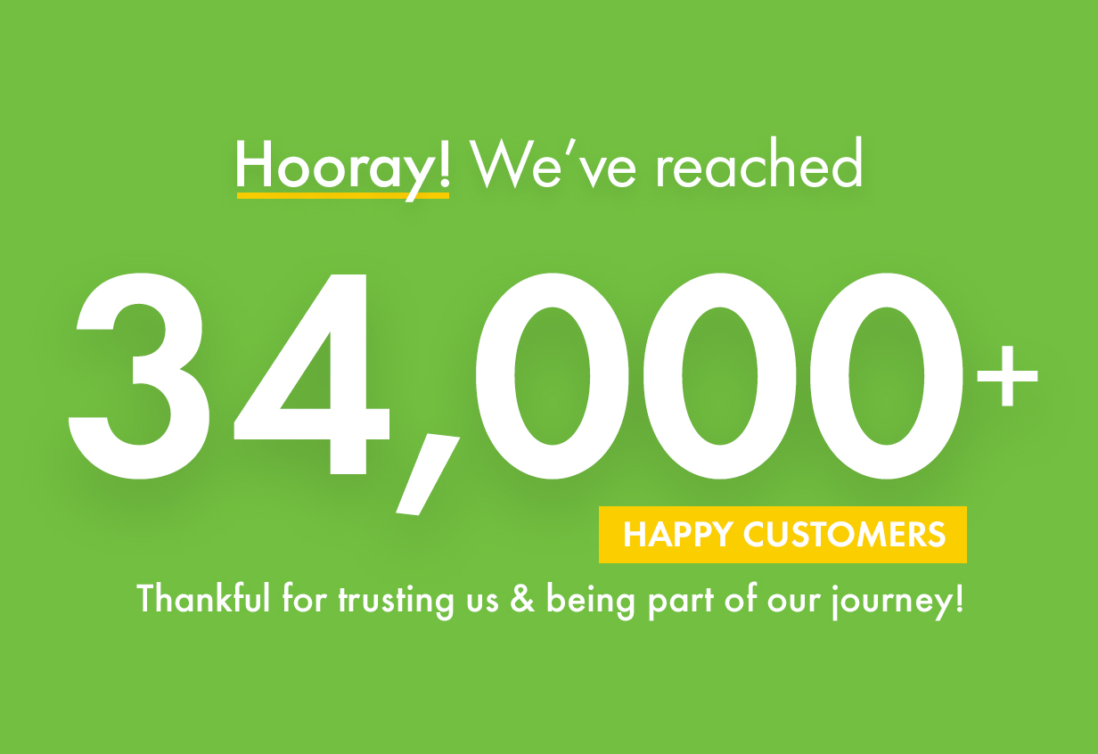 Kalium reached more than 34000+ happy clients. We are thankful for trusting us.