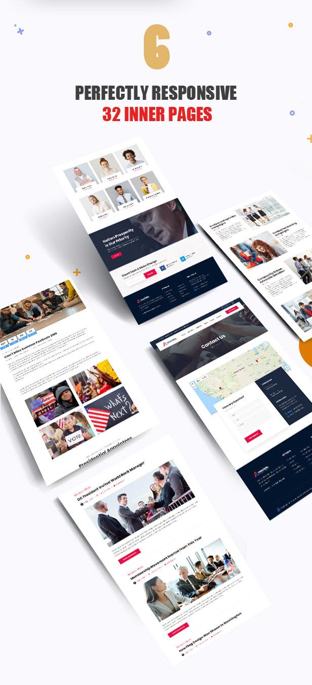 Actavista - A Responsive Political WordPress Theme For Politicians and Organizations - 8