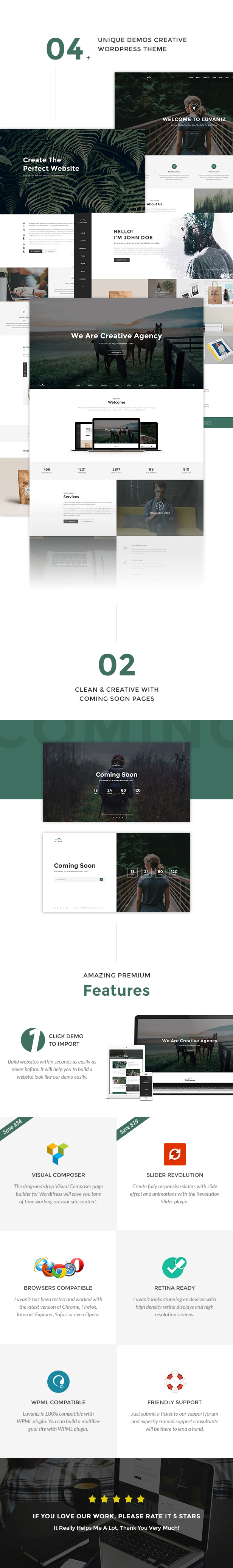 Luvaniz Wordpress Theme