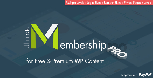 Ultimate Membership Pro - WordPress Membership Plugin by azzaroco