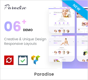 Paradise - Multipurpose Spa & Beauty WordPress Theme