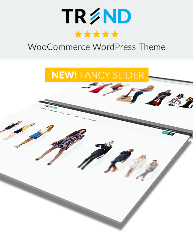 Trend - Multipurpose / Fashion / Restaurant / Construction / Modern Shop WooCommerce WordPress Theme - 14