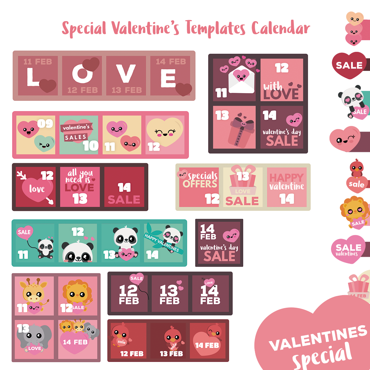 Deals Calendar - WordPress Plugin - Special Valentine's Day - 1