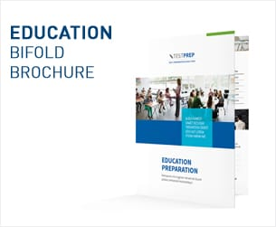 Education Bifold / Halffold Brochure - 3
