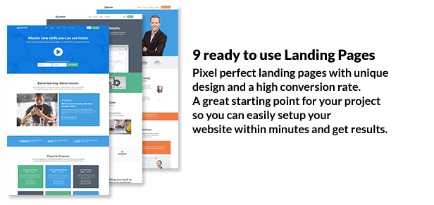 Getleads - Landing Page Pack with Page Builder - 2