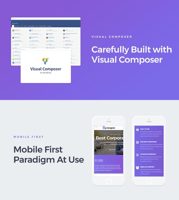 Synergeer - Corporate Creative WordPress Theme - 3