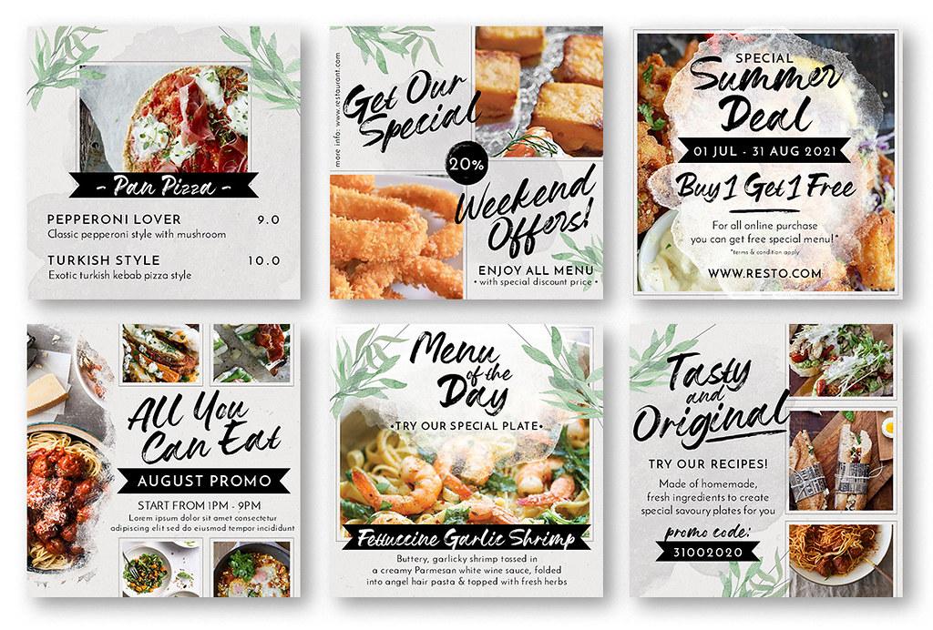 Modern Food Menu Instagram Stories - 3