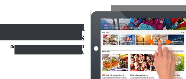 Revija - Premium Blog/Magazine HTML Template - 8