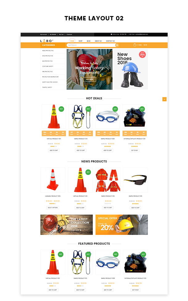 VG Labo - WooCommerce Theme for Tools, Equipment Store - 18