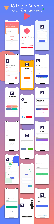 Flutter Login Ui Kit in Flutter 2.0 (iOS, Android, Desktop, Web) - 4