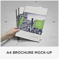 Square Book Mock-up / Dust Jacket Complete Edition - 11