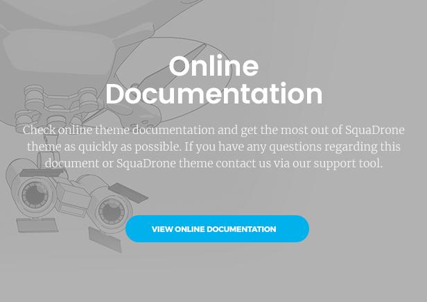 SquaDrone - Drone & UAV Business WordPress Theme - 7