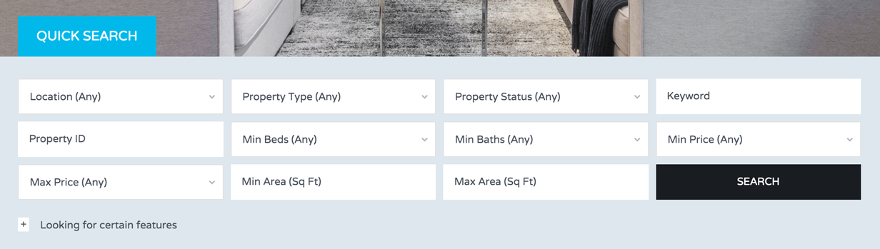 Advanced, Powerful and Customizable Search for Real Estate Properties