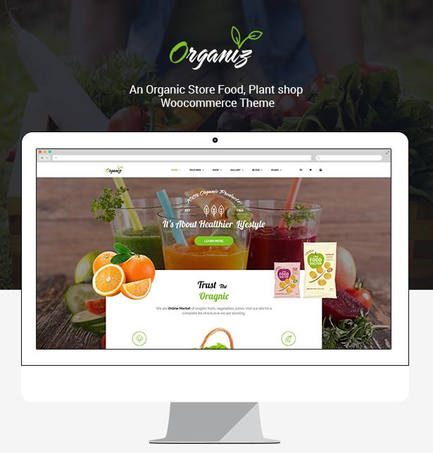 Organiz - An Organic Store WooCommerce Theme - 9