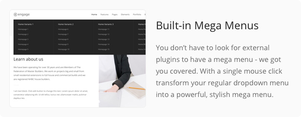 Engage - Responsive Multipurpose WordPress Theme - 40