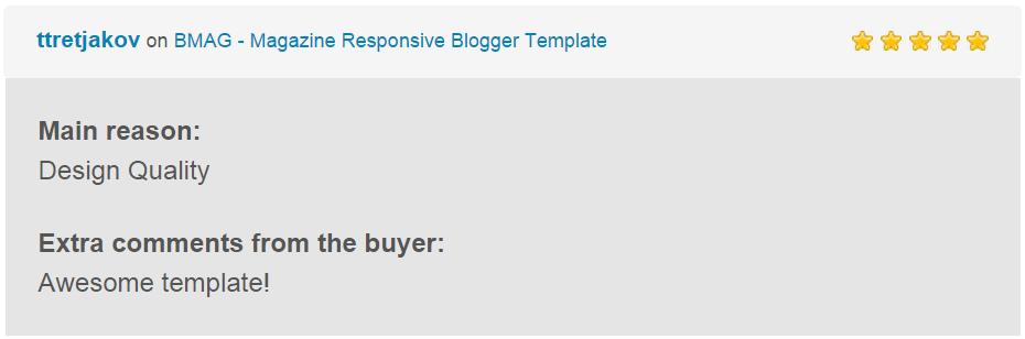 BMAG - Magazine Responsive Blogger Template - 27