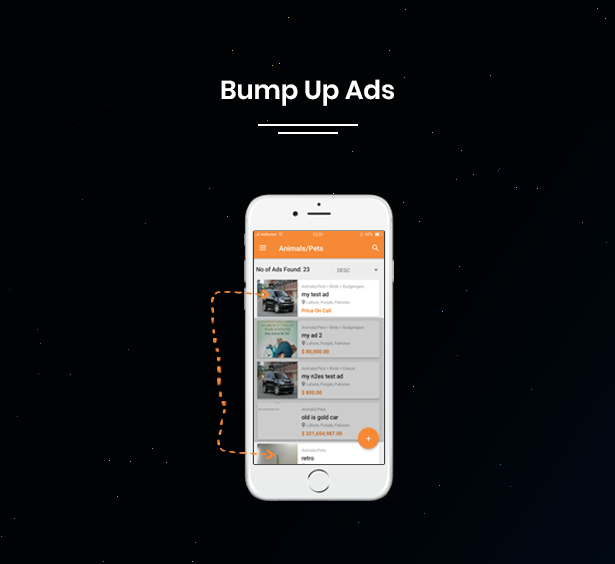 bump up ads