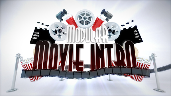 Modular Cinema Intro Logo Reveal - 5