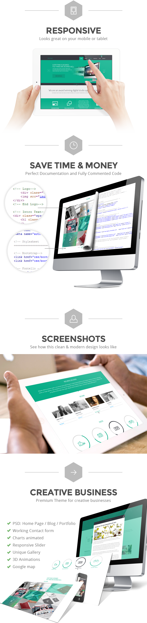 Spooky - Responsive One Page HTML Template - 8