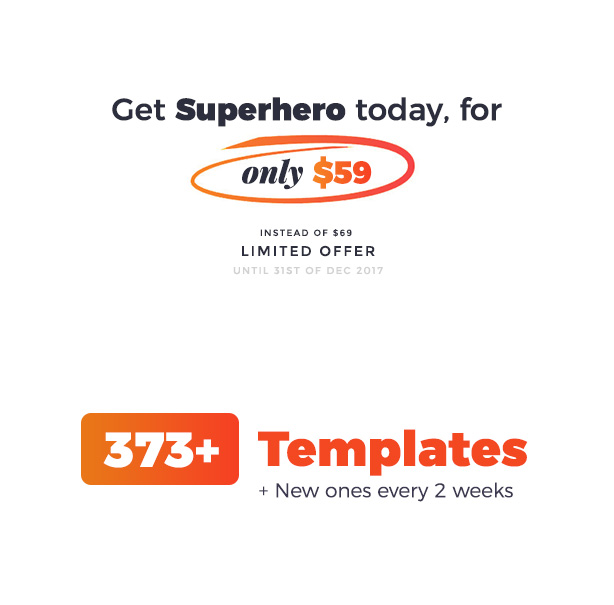 Superhero — Creative Multi-Purpose WordPress Theme - 1