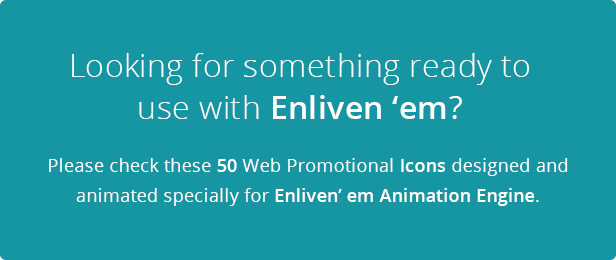 Enliven' em Premium Add-on: Web Promotional Icons - 2