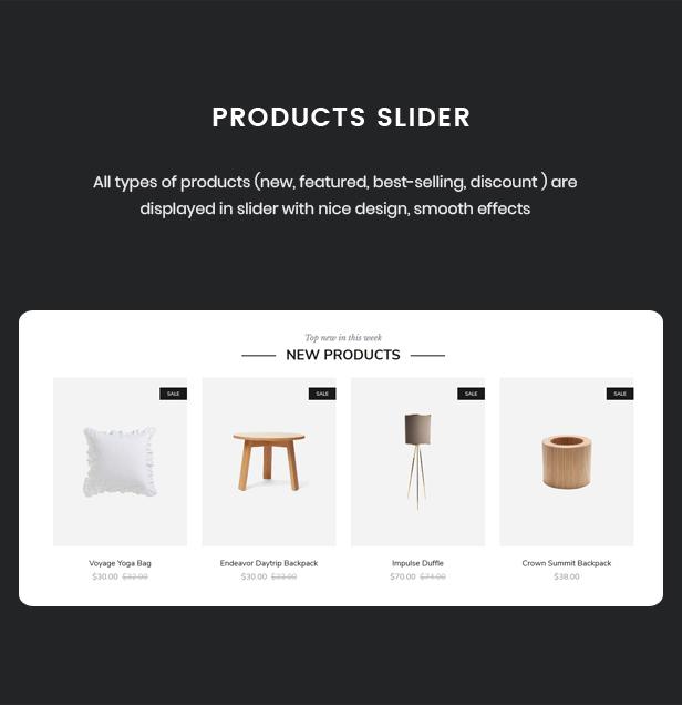 Nevara - Furniture Theme for WooCommerce WordPress 42