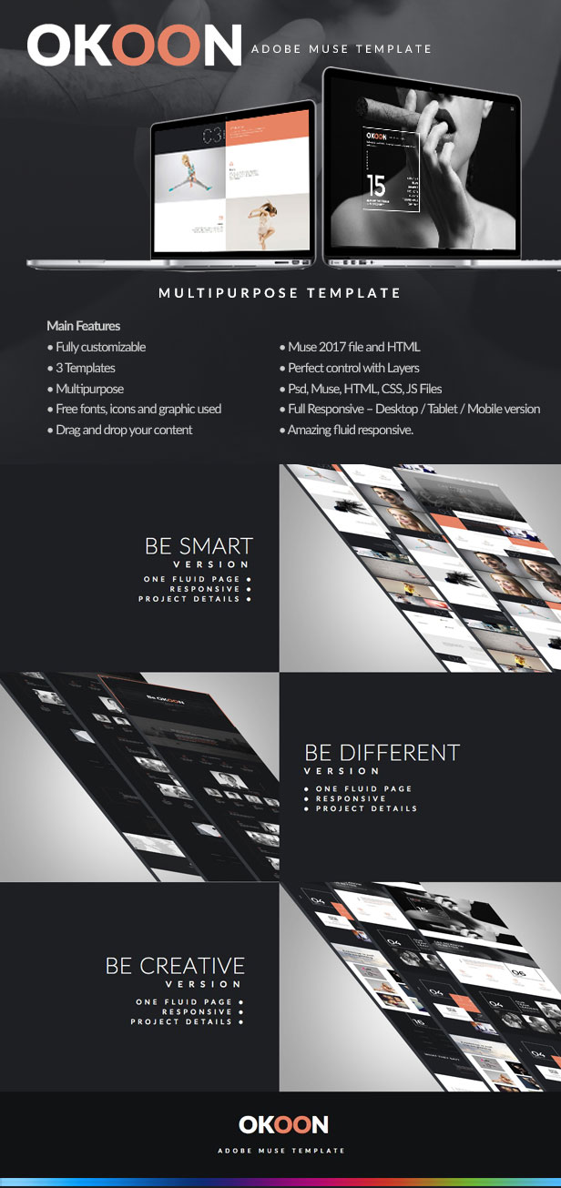 Okoon Multipurpose Muse Template - 1