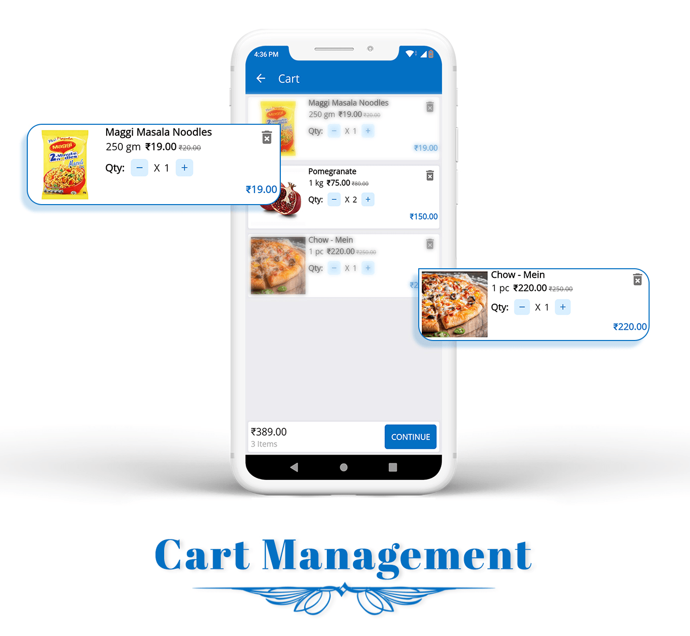 eCart - Grocery, Food Delivery, Fruits & Vegetable store, Full Android Ecommerce App - 8