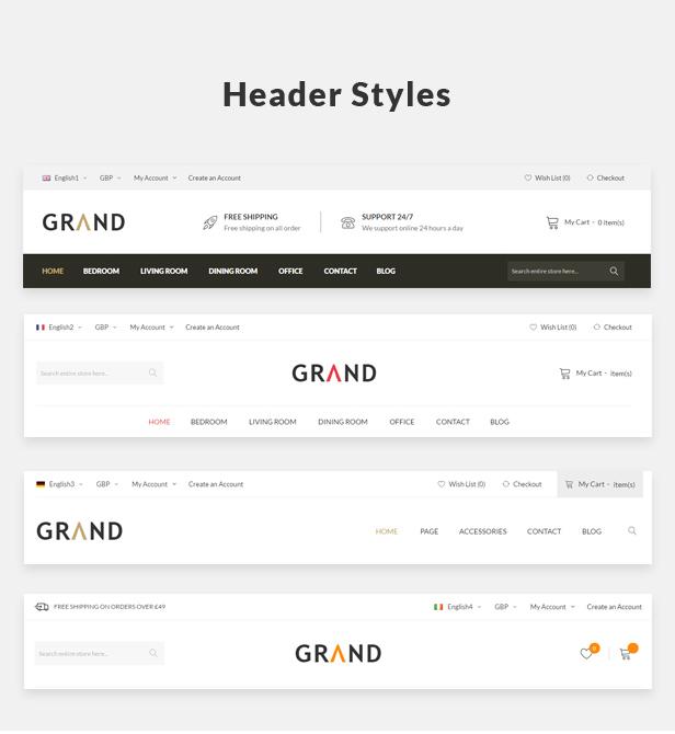 Grand - Responsive Furniture WooCommerce WordPress Theme 42