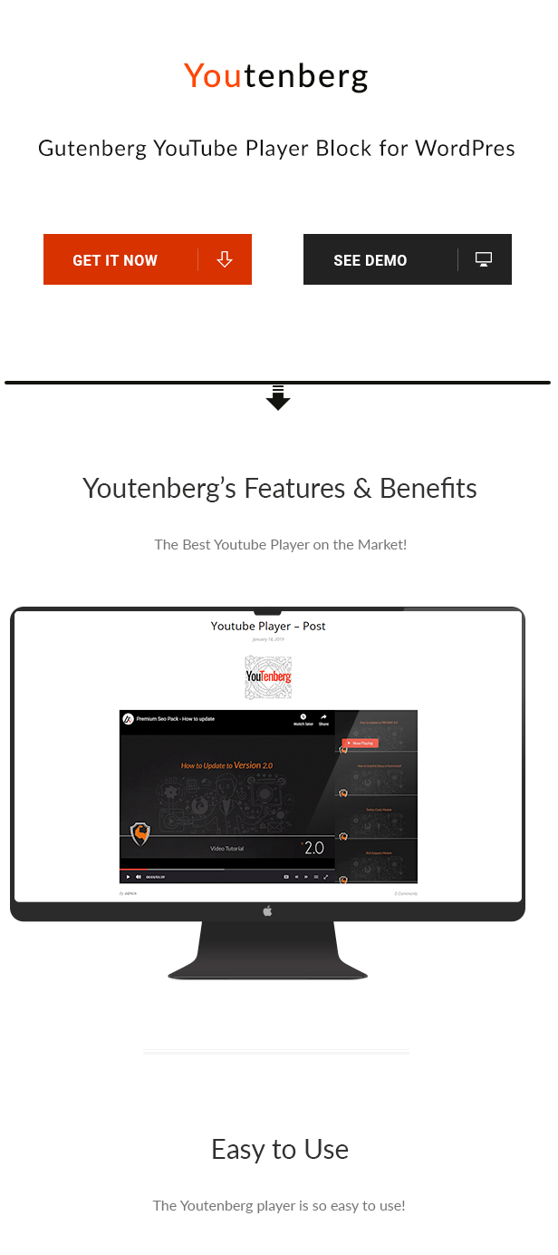 Youtenberg - Gutenberg YouTube Player with Playlist - 3