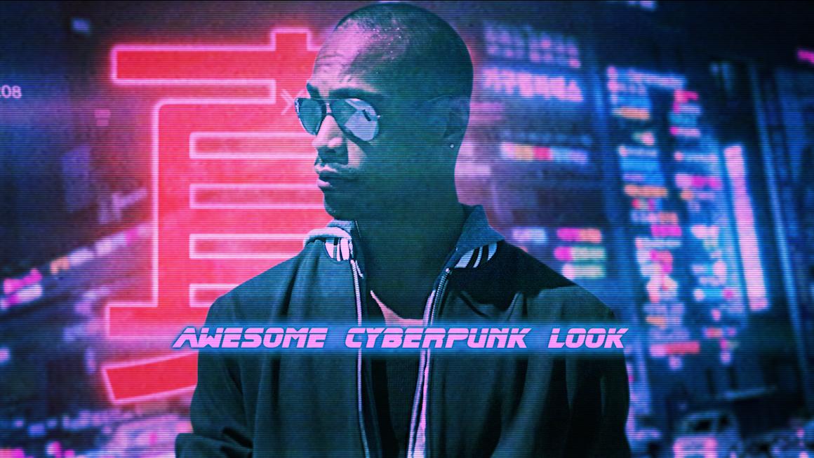Cyber Urban Freeze Frame Opener - 8