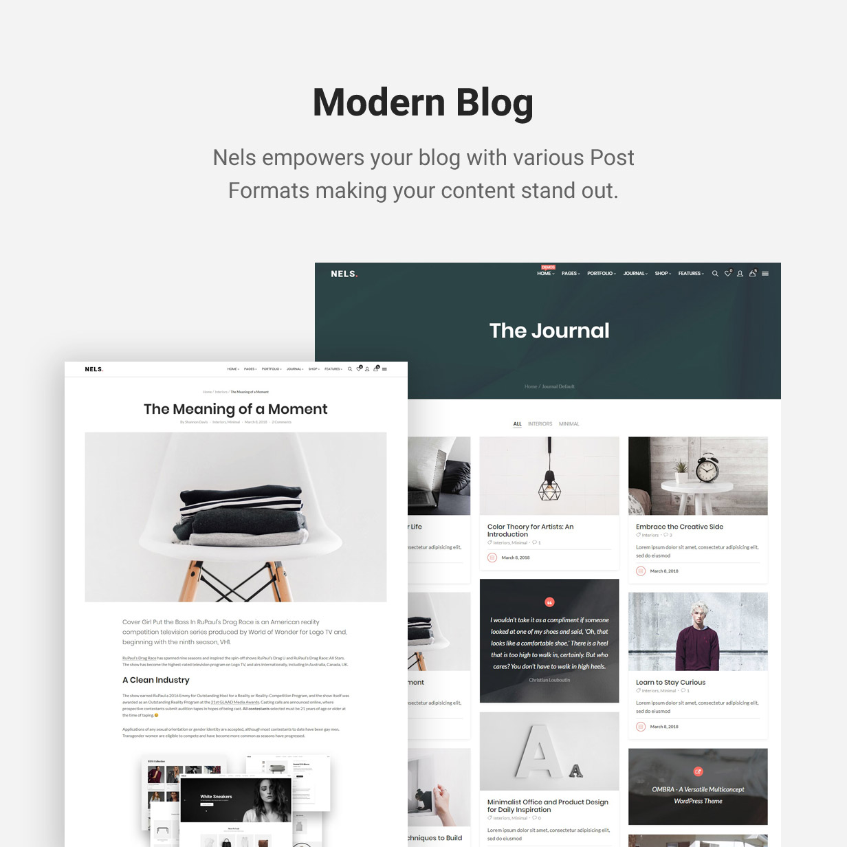 Nels - An Exquisite eCommerce WordPress Theme - 10