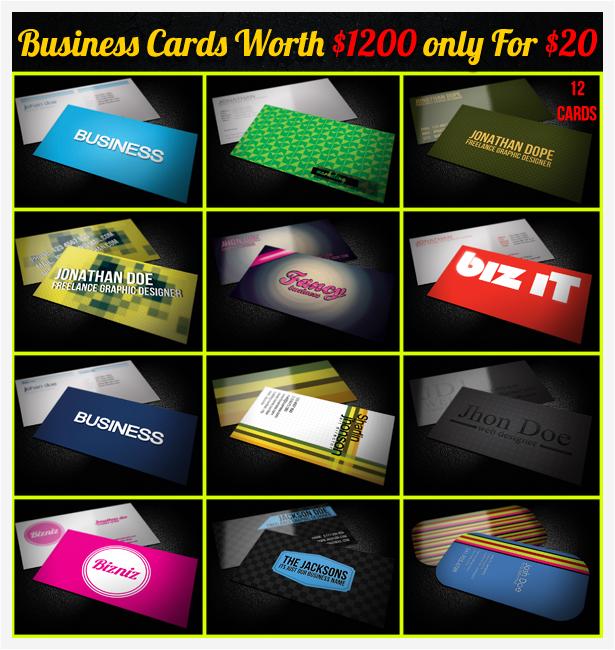 Black Business Card - 2
