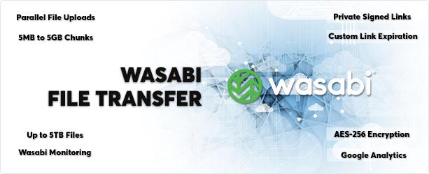 Wasabi - Direct Multipart File Transfer - 1