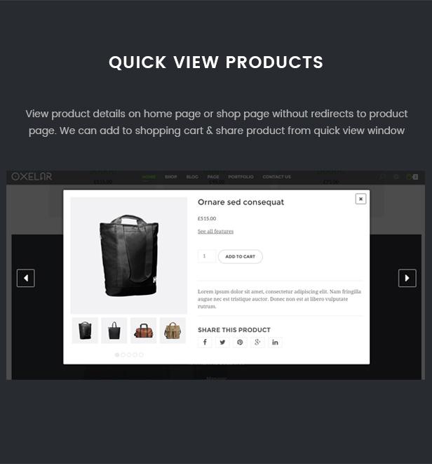 Oxelar - Fashion Responsive WordPress Theme 35