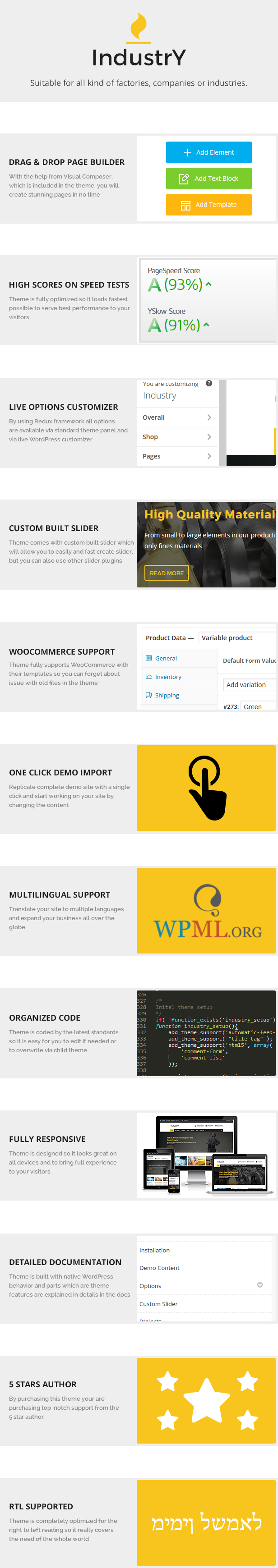 Industry - Factory, Company And Industry WP Theme - 2