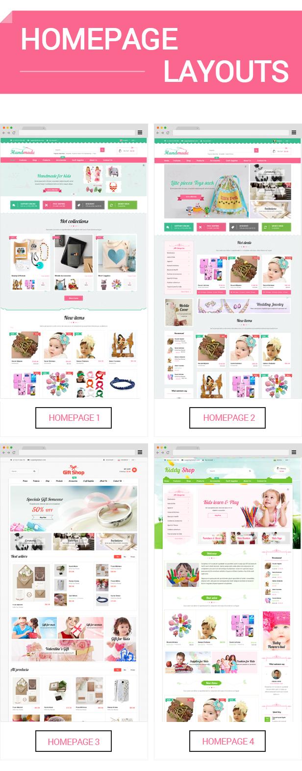 Handmade - Homepage