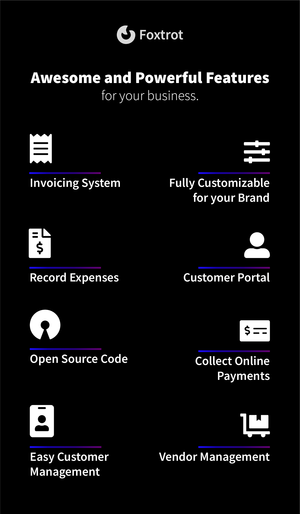 Foxtrot (SaaS) - Customer, Invoice and Expense Management System - 4