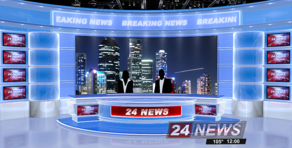 Broadcast Design - Complete News Package - 3