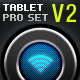 Tablet/Phone User Interface PROFESSIONAL SET V. 2 - GraphicRiver Item for Sale
